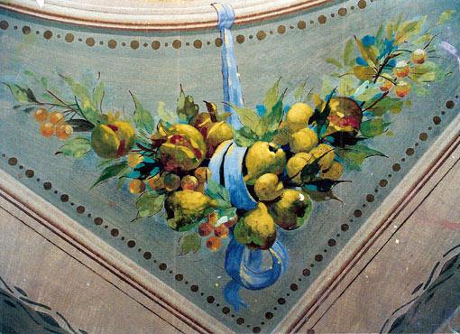 Soffitti decorati restauro affreschi affreschi - Soffitti decorati ...
